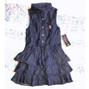 NEW US Polo Assn Denim Dress
